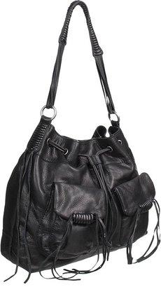Lucky Brand Jordana Hobo (Black) - Bags and Luggage