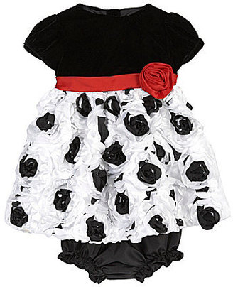 Nannette 3-9 Months Soutache-Skirt Dress & Panty Set
