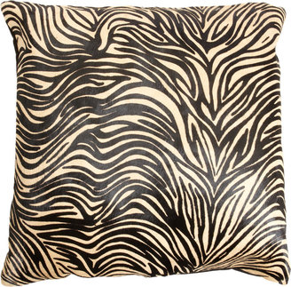 "Barneys New York 24"" Zebra Pillow"
