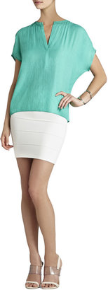 BCBGMAXAZRIA Ayanna Oversized Scarf Shirt