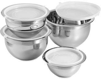 Bed Bath & Beyond Professional Grade 4-Piece Stainless Steel Mixing Bowl Set