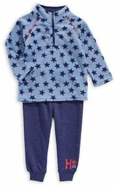 Tommy Hilfiger Baby Boy's Two-Piece Sweater Jogger Pants Set