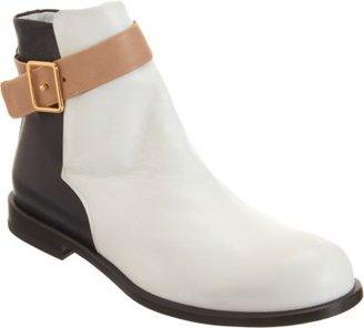 Jil Sander Colorblock Belted Ankle Boot