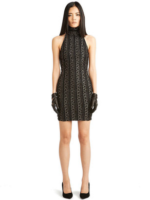 Torn By Ronny Kobo Claudia Halter Dress