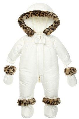 Juicy Couture Leopard Faux Fur Snowsuit