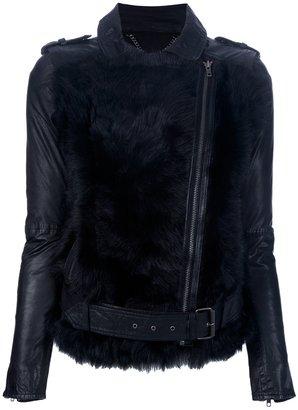 Muu Baa Muubaa shearling biker jacket
