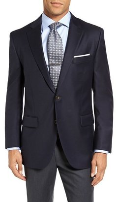 Men's Peter Millar 'Flynn' Classic Fit Navy Wool Blazer $495 thestylecure.com