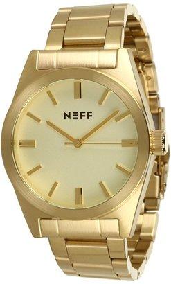 Neff Daily Metal Watch (Gold) - Jewelry
