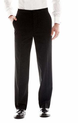 Jf J.Ferrar Men's JF Flat-Front Tuxedo Slim-Fit Pants