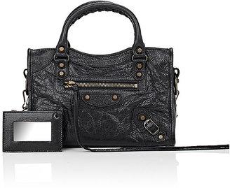 Balenciaga Women's Arena Leather Classic Mini City Bag $1,395 thestylecure.com