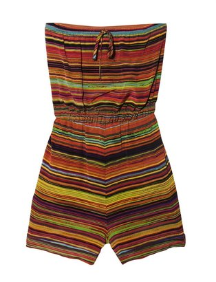 Twelfth St. By Cynthia Vincent Stripe Romper