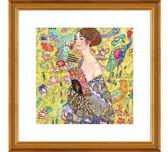 Gustav Klimt, Lady with Fan