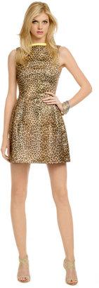 MSGM Purfect Leopard Dress
