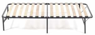 Pragma Bed Wooden Slat Simple Base Bed Frame Pragma Bed