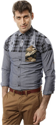 Ecko Unlimited Shirt, The Complex Long-Sleeve Printed
