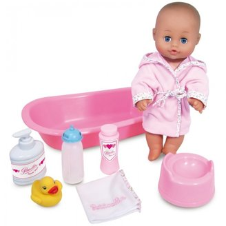 Petitcollin Calinet Doll with Bath