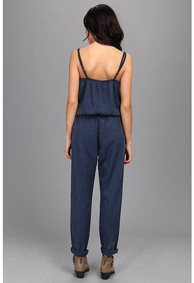 AG Adriano Goldschmied The Weekend Romper in Sulfur Calm Blue