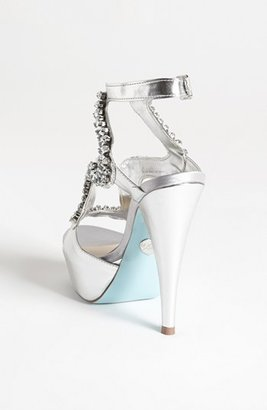 Betsey Johnson Blue by 'Ring' Sandal