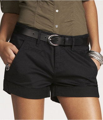 """Express 2 1/2"""" Relaxed Cuffed Shorts"""
