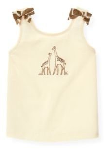 Janie and Jack Giraffe Bow Tank