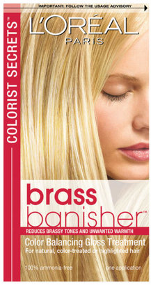 L'Oreal Colorists Secrets Brass Banisher Gloss Treatment