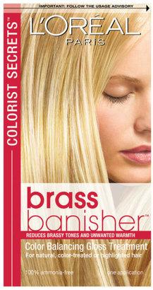 L'Oreal Colorists Secrets Brass Banisher Gloss Treatment