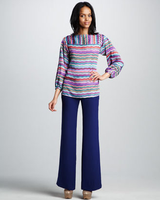 Shoshanna Shanley Wide-Leg Pants