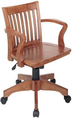 OSP Home Furnishings Deluxe Banker's Chair