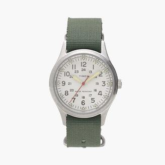 Timex® for J.Crew vintage field army watch $98 thestylecure.com