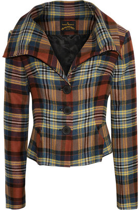 Vivienne Westwood Eva tartan jacket