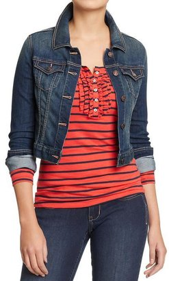 Old Navy Women's Cropped Denim Jackets