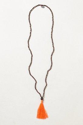 Anthropologie Tassel Plume Necklace
