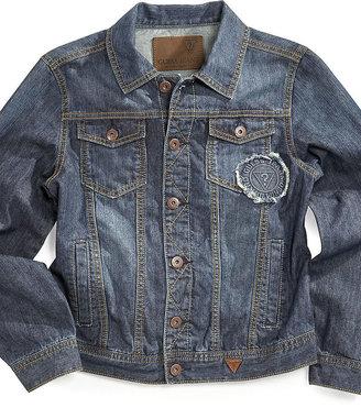 GUESS Jacket, Boys Core Mariner Denim Jacket