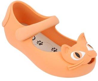Jane Melissa Shoes - Girl's Ultragirl Cat Mary Orange / Beige