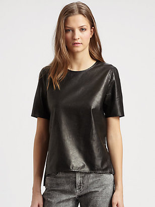 Vince Leather Tee