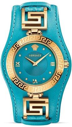 Versace Signature Rose Gold & Diamonds Watch, 35mm $1,595 thestylecure.com