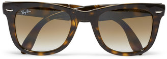 Ray-Ban Folding Wayfarer Acetate Sunglasses