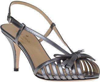 Kate Spade Sid Evening Sandal Acciaio Leather