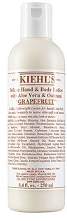 Kiehl's Deluxe Hand & Body Lotion with Aloe Vera & Oatmeal in Grapefruit