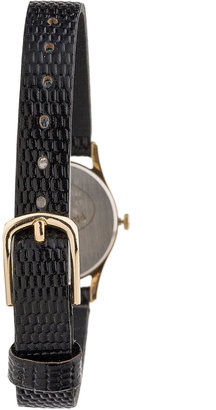 Seiko Gold Coin Ladies' Leather Band Watch