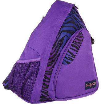 JanSport Air Cisco (Black/Prism Purple Flashback Zebra) - Bags and Luggage