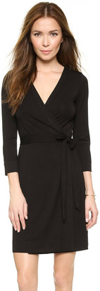 Diane von Furstenberg Julian Mini Wrap Dress $288 thestylecure.com