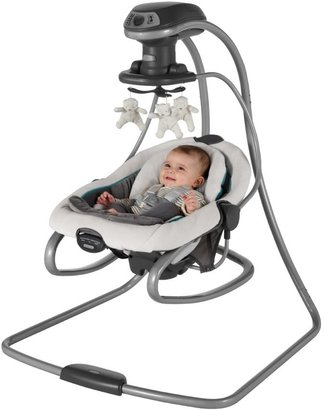 Graco DuetSoothe Swing & Bouncer - Sapphire