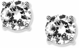 Givenchy Earrings, Round Crystal Stud