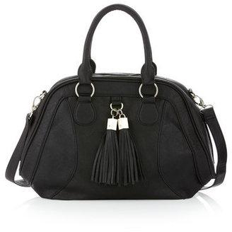 Romeo & Juliet Couture R&j Handbags By Cindy Satchel, Black