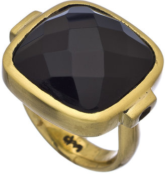 Dream Mullick Faceted Black Onyx Ring