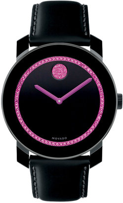 Movado BOLD Large TR90 & Swarovski Crystal-Encrusted Watch
