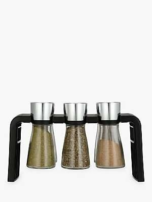 Cole & Mason Shaw 6 Jar Filled Spice Rack