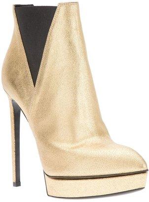 Saint Laurent 'Classic Janis 105' platform ankle boots