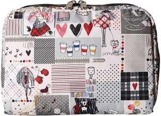 Le Sport Sac Luggage Extra Large Rectangular and Square Cosmetic Combo